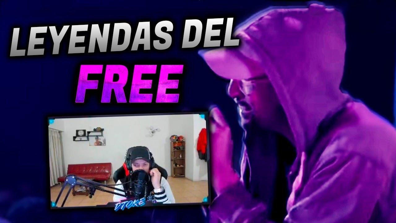 DTOKE REACCIONA A LO MEJOR DE LEYENDAS DEL FREE PARTE 1