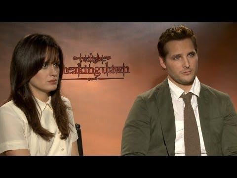 'Twilight: Breaking Dawn' Interviews: Peter Facinelli and Elizabeth Reaser