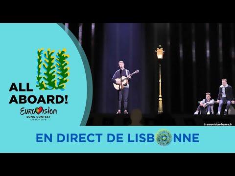 Ryan O'Shaughnessy - Ireland 2nd Rehearsal - Eurovision 2018 Together (FULL Rehearsal, HD)