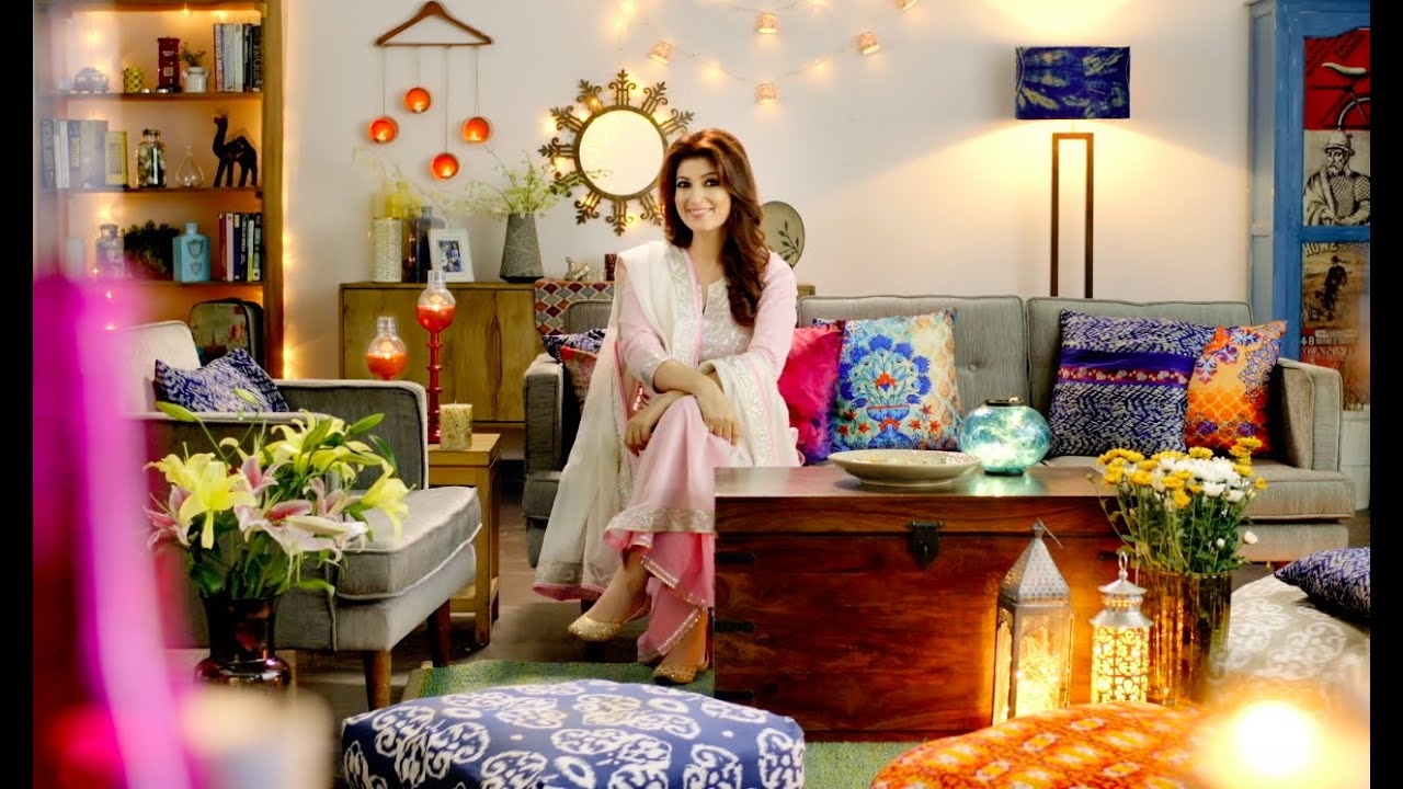 The quirk action by twinkle khanna boho chic home decor for Home by decor
