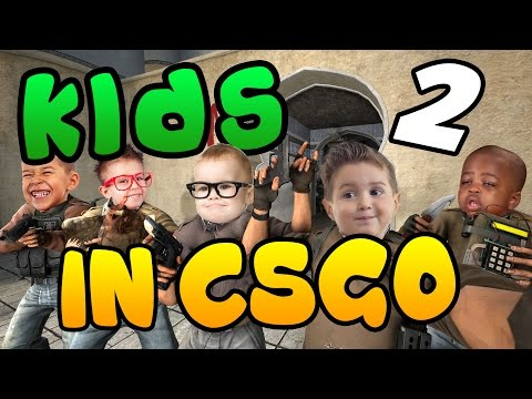 Kids In CSGO 2 - Funny CS:GO Moments Compilation