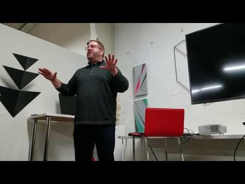 Mingo Coin ICO Presentation At The Sacramento Bitcoin Meetup At Hacker Lab January 22 2018