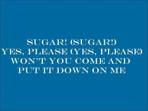 "Maroon 5 ""Sugar""  (Lyrics On Screen)  *NEW"