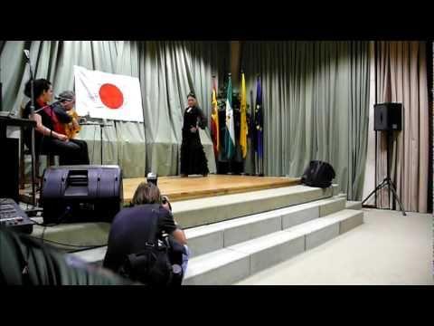 """LA YUNKO"" por Soleá. Festival Flamenco a Beneficio Damnificados de Japón."