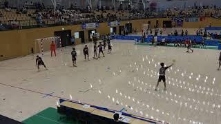 2018IH 男子ハンドボール 準々決勝 藤代紫水(茨城県)対 神戸国際大学附(兵庫県)