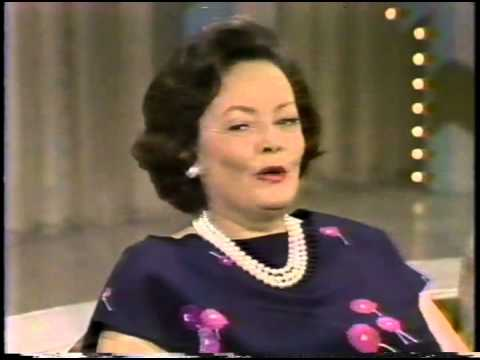 Gene Tierney--Rare 1979 TV Interview