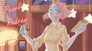 Pearl The Waitress Redraw [Speedpaint]