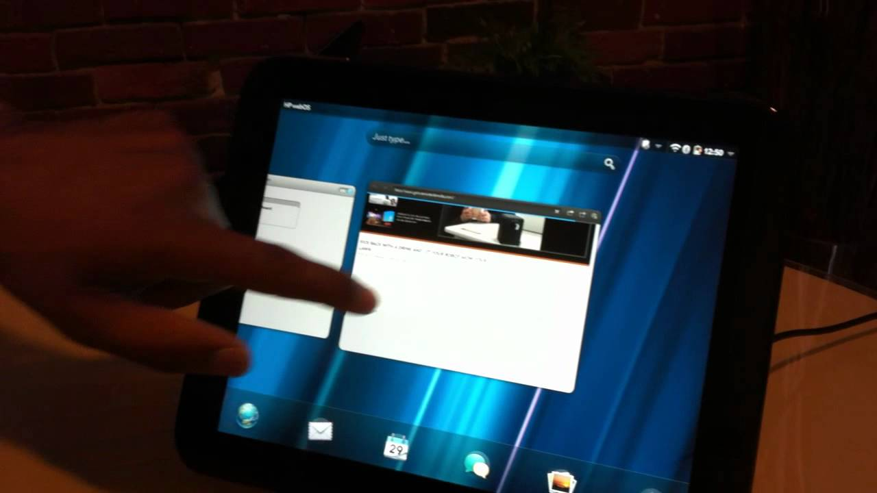 Replace Your Laptop With The HP TouchPad