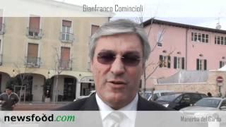 Gianfranco Comincioli di Puegnago sul lago di Garda in Valtenesi: il suo vino, il suo olio
