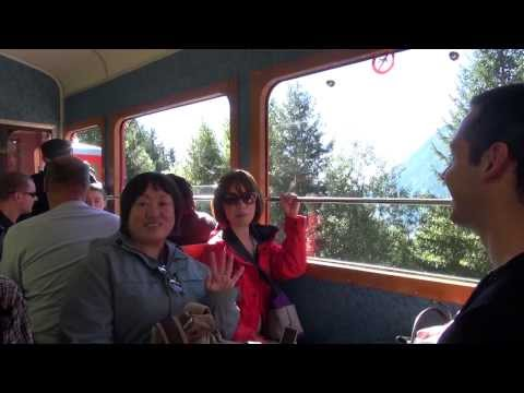 """Chamonix """"The Alps"""" with the Japanese delegation"""