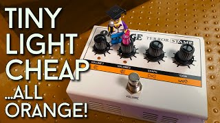 Size doesn't matter... she said! Orange Terror Stamp Amplifier