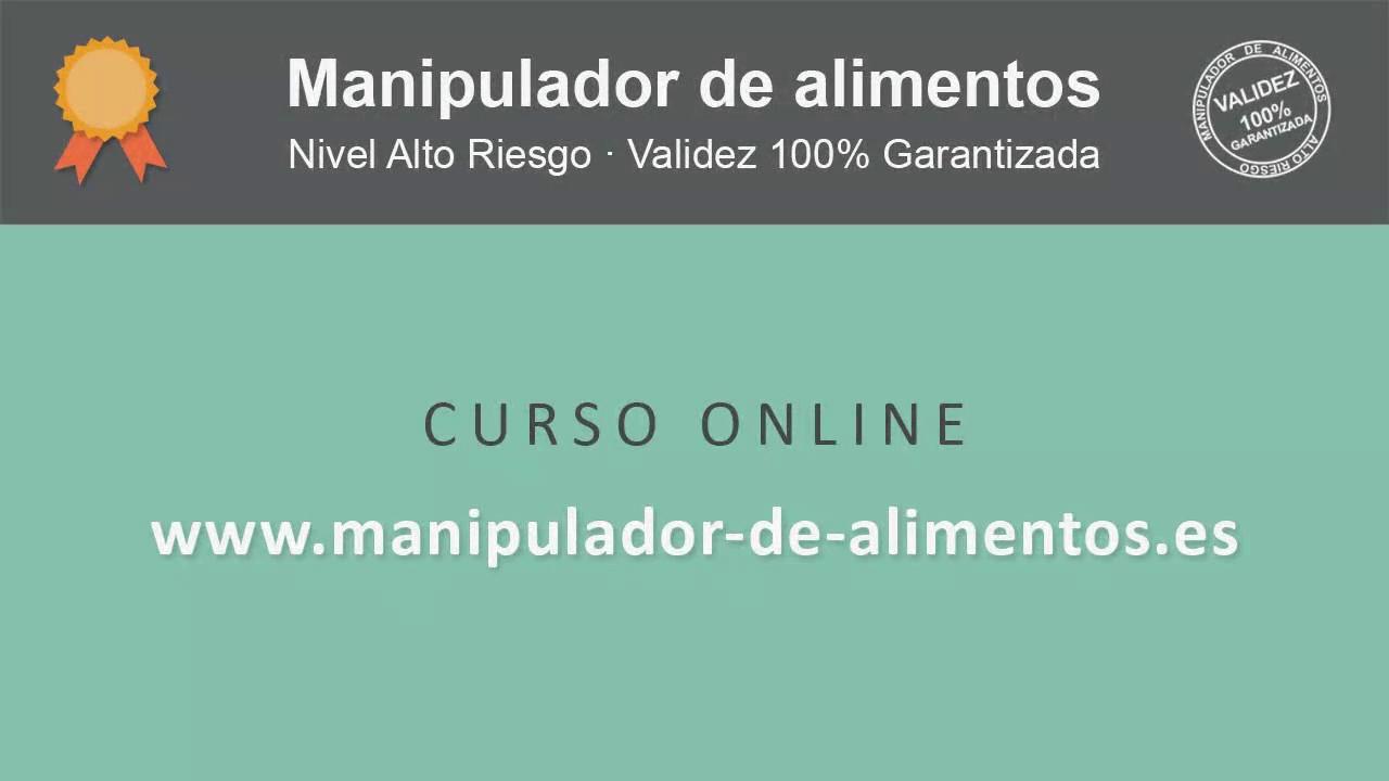 Manipulador de alimentos paso a paso youtube - Manipulador de alimentos on line ...