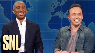 Weekend Update: Bruce Springsteen and Barack Obama on Their Podcast Renegades - SNL