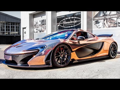 LA Muscle's Chrome Rose Gold McLaren P1 Showcase