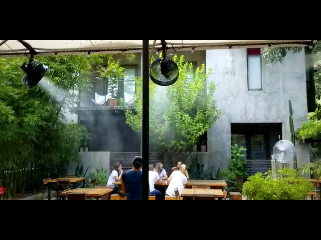Mist Cooling System Installation @ Hotel San Jose