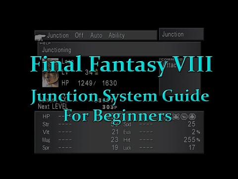 Final Fantasy VIII - Junction System Guide For Beginners