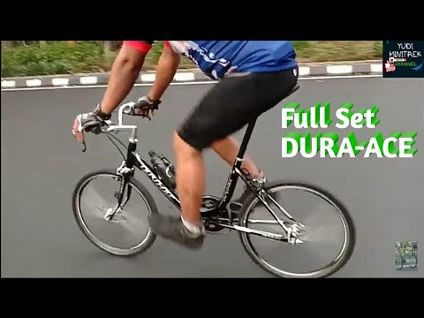 Full Set Dura Ace Sepeda Minitrek Youtube