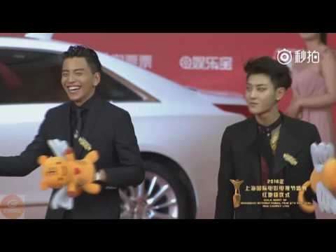 160611 ZTAO & Railroad Tigers casts at Shanghai International Festival Film Red Carpet