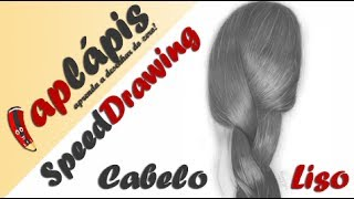 Cabelo Liso - Speed Drawing