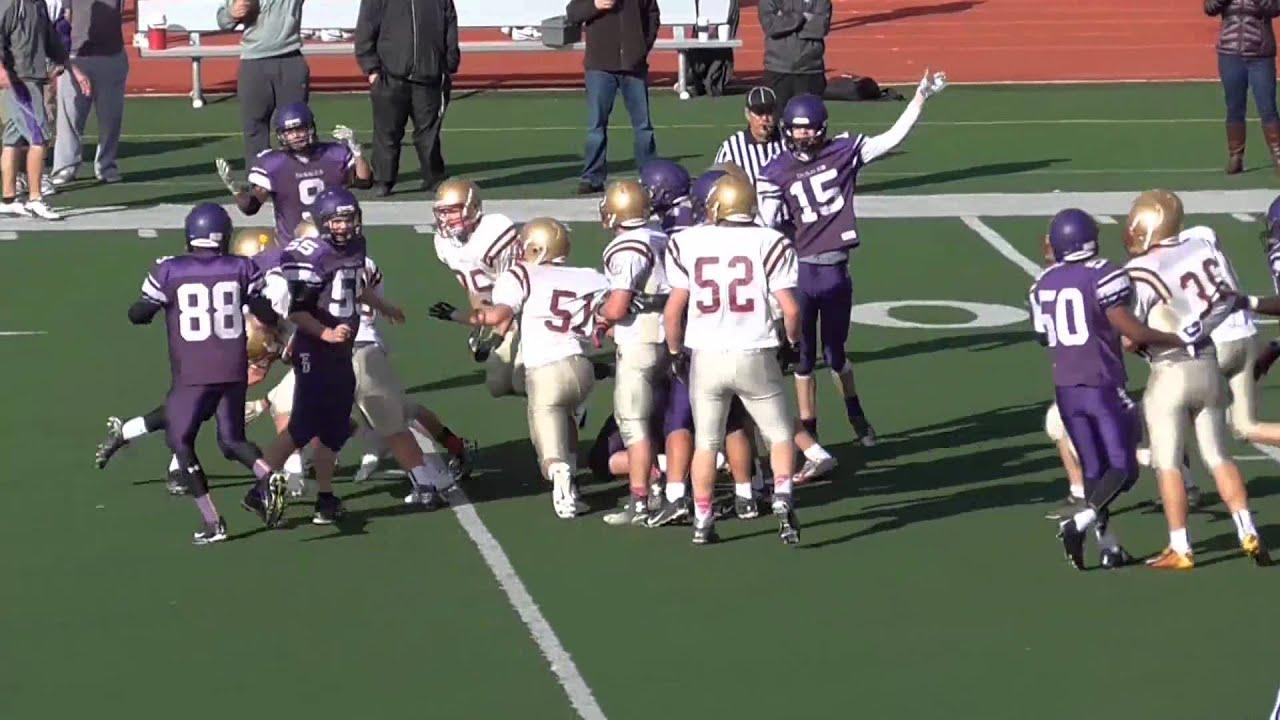 Bishop Watterson V Desales Freshman Game Highlights 10 18 2014