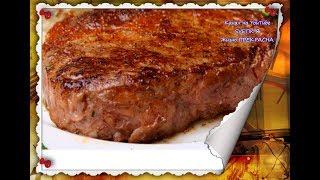 Вкусное  ЖАРЕНОЕ МЯСО свинины .Простой способ приготовления.