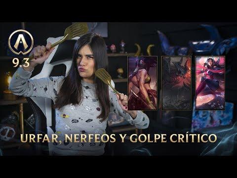 [Versión 9.3] Actualizando: URFAR, debilitaciones y golpe crítico  | League of Legends thumbnail