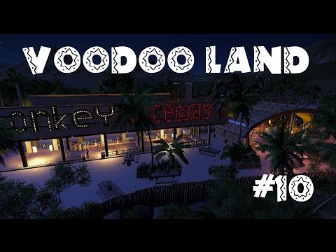 Planet Coaster - Voodoo Land #10 - Monkey Sign & Waterfront
