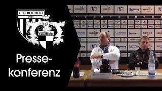 Pressekonferenz 22. Spieltag: 1. FC Bocholt - VfB 03 Hilden 2:1 (2:0)
