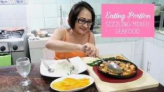 Eating Portion | Sizzling Mixed Seafood