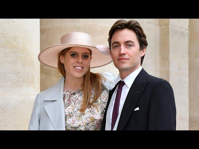 Prinzessin Beatrice von York - Probelauf für ihre eigene\: Zu Gast bei einer kaiserlichen Hochzeit
