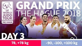 Judo Grand-Prix The Hague 2018: Day 3