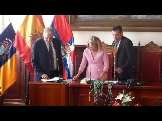 Constitución del Pleno de Santa Cruz de la Palma.