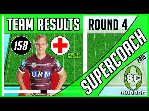 IT'S TURBO TIME! | Round 4 Results | NRL SUPERCOACH 2018