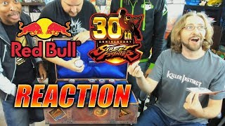 MAX REACTS: Insane RedBull Street Fighter Collectors Edition 30th Anniversary Chest