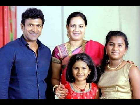Power Star Puneeth Rajkumar Family Photos Youtube