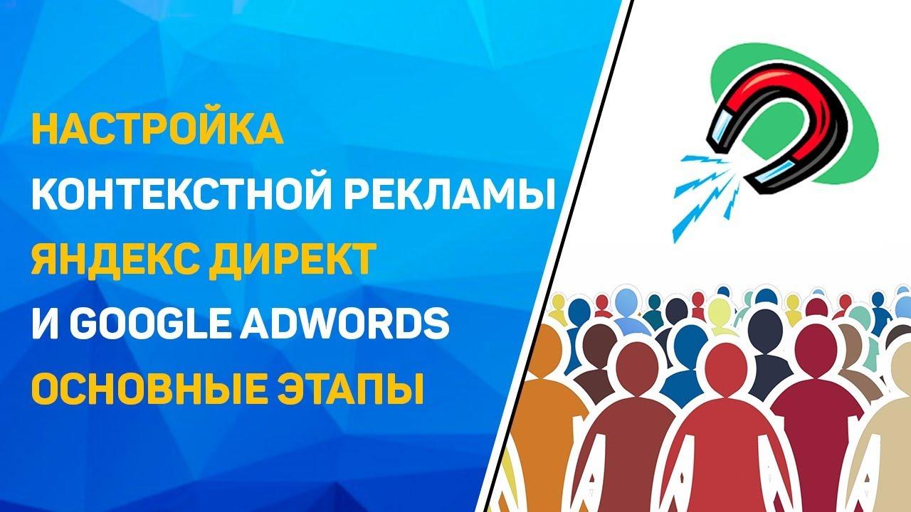 Настройка контекстной рекламы яндекс директ google adwords реклама в шапке сайта ucoz
