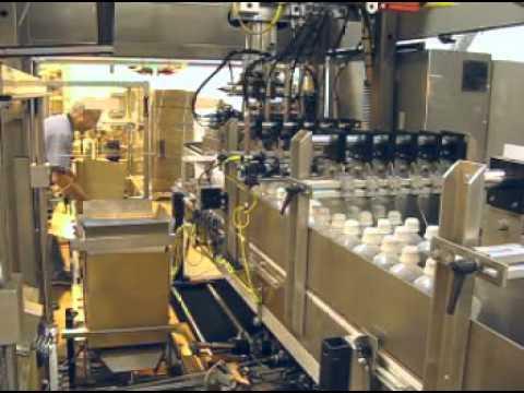 Case Packing Pharma Bottles 250 500ml