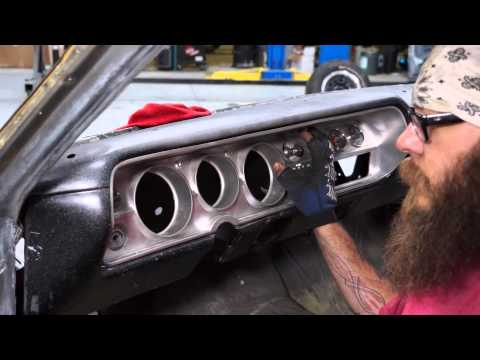 How To Straighten The Dash On A 65 Chevy Malibu SS - The Build