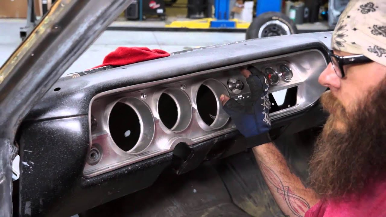 How to straighten the dash on a 65 Chevy Malibu SS - The ...