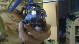 вертолёт на пульте управления.