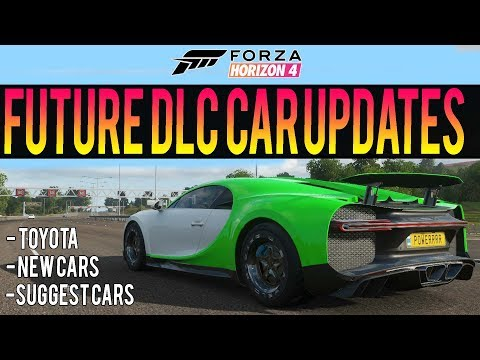 Forza Horizon 4 - Future DLC Cars! - Suggest New DLCs + Toyota Leaks thumbnail