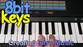 Creating the Intro music on a Yamaha PSS470