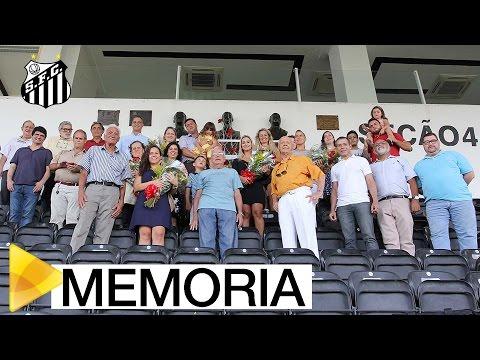 Santos FC celebra o dia Urbano Caldeira
