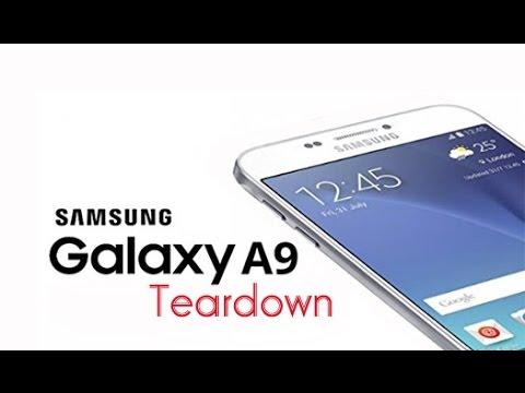 Samsung Galaxy A9(2016) Teardown/Disassembly Repair Guide
