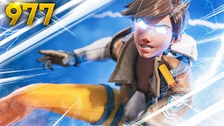 THE MOST *GODLY* Tracer PLAY!! | Overwatch Daily Moments Ep.977 (Funny and Random Moments)