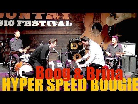 HYPER SPEED BOOGIE by  Boog & Brina @ Country Music Festival Albisgüetli Zurich 2018