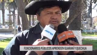 30/07/15 14:49 FUNCIONARIOS PÚBLICOS APRENDEN GUARANÍ Y QUECHUA