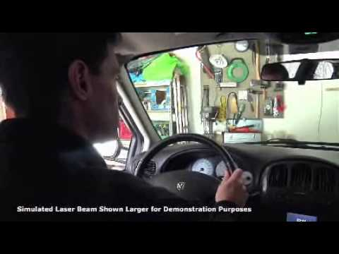 Laser Parking Assist From Chamberlain