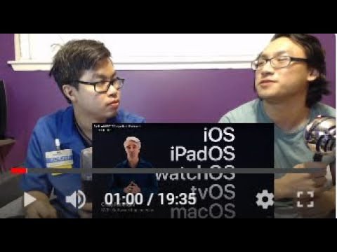 Reaction to Apple WWDC 2020 keynote in 18 minutes