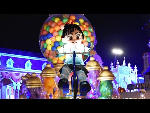 NEW Wreck It Ralph & Vanellope Parade Segment at Mickey